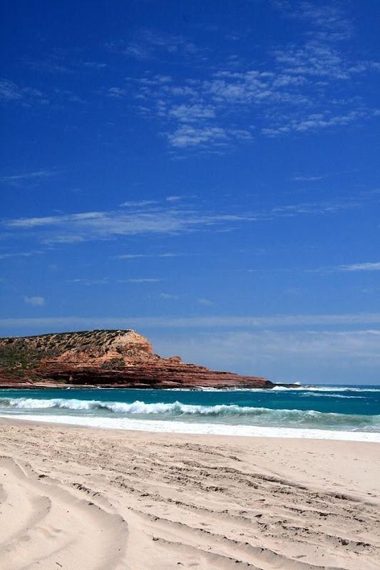Beach and headland Kalbarri