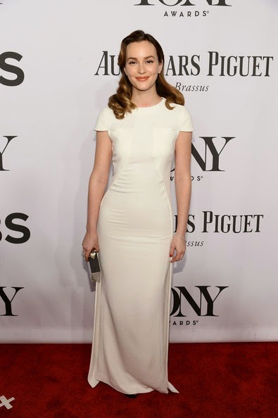 Leighton Meester 2014 Tony Awards Arrivals