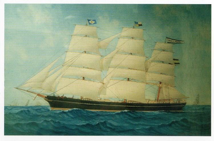 Fragata PERLA DE SITGES. Grabado del libro TIEMPOS DE VELA.jpg