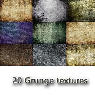 20 Grunge textures - Texture đẹp