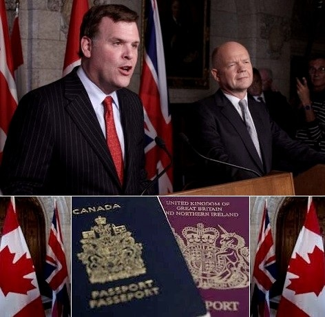 Canada and Britain to share embassy space