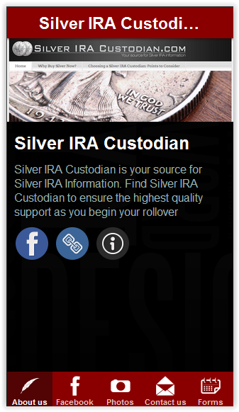Silver Ira App- screenshot