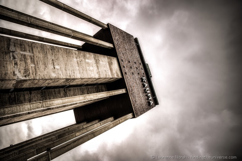water tower in rauma finland