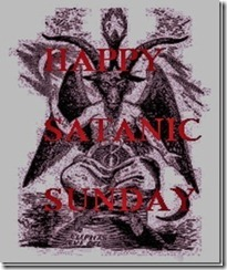 happy satanic sunday!