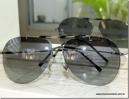 10fe9c00282d3 Brechó Camarim  Óculos de grandes marcas e baratos