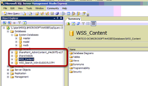 CSCM IT Solutions: How To - Uninstall Windows Internal Database