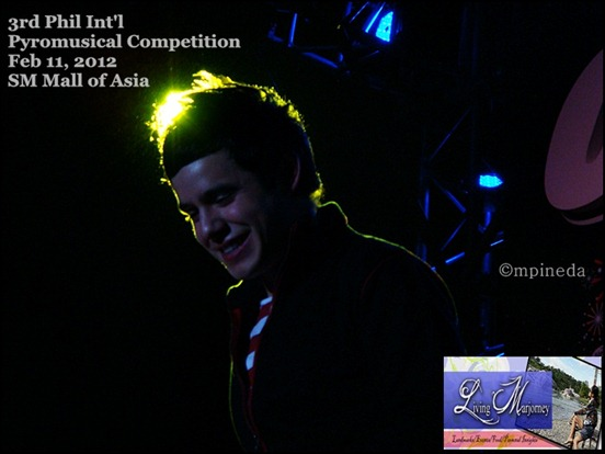 David Archuleta 3rd Phil Int'l Pyromusical Competition