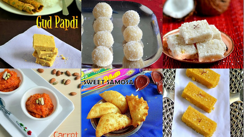 Diwali sweets recipes collection
