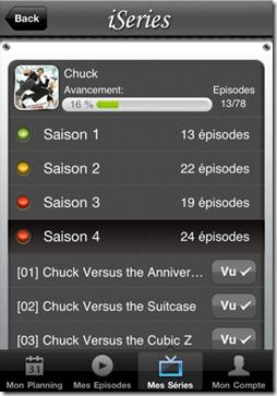 appli séries TV
