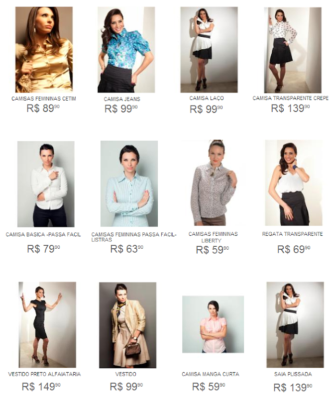 ad561baae Camisas da grife LM Concept com preços reduzidos na loja virtual ...