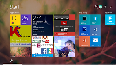 cài đặt Windows 8.1 Pro