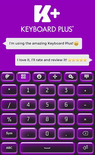 玩免費個人化APP|下載键盘加霓虹灯紫 app不用錢|硬是要APP