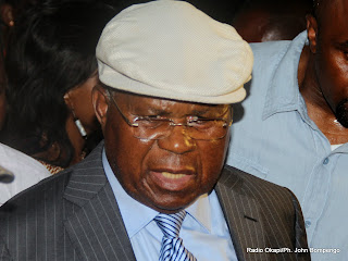 Etienne Tshisekedi Wa Mulumba (UDPS).  Radio Okapi/Ph. John Bompengo