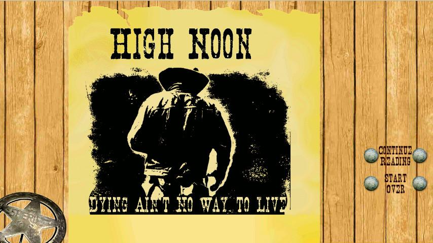 High Noon: Demo - screenshot