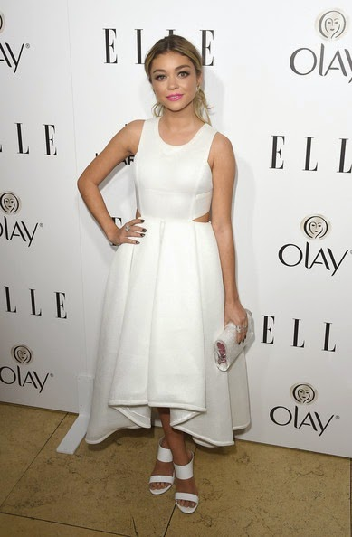 Sarah Hyland attends ELLE's Annual Women in Television Celebration