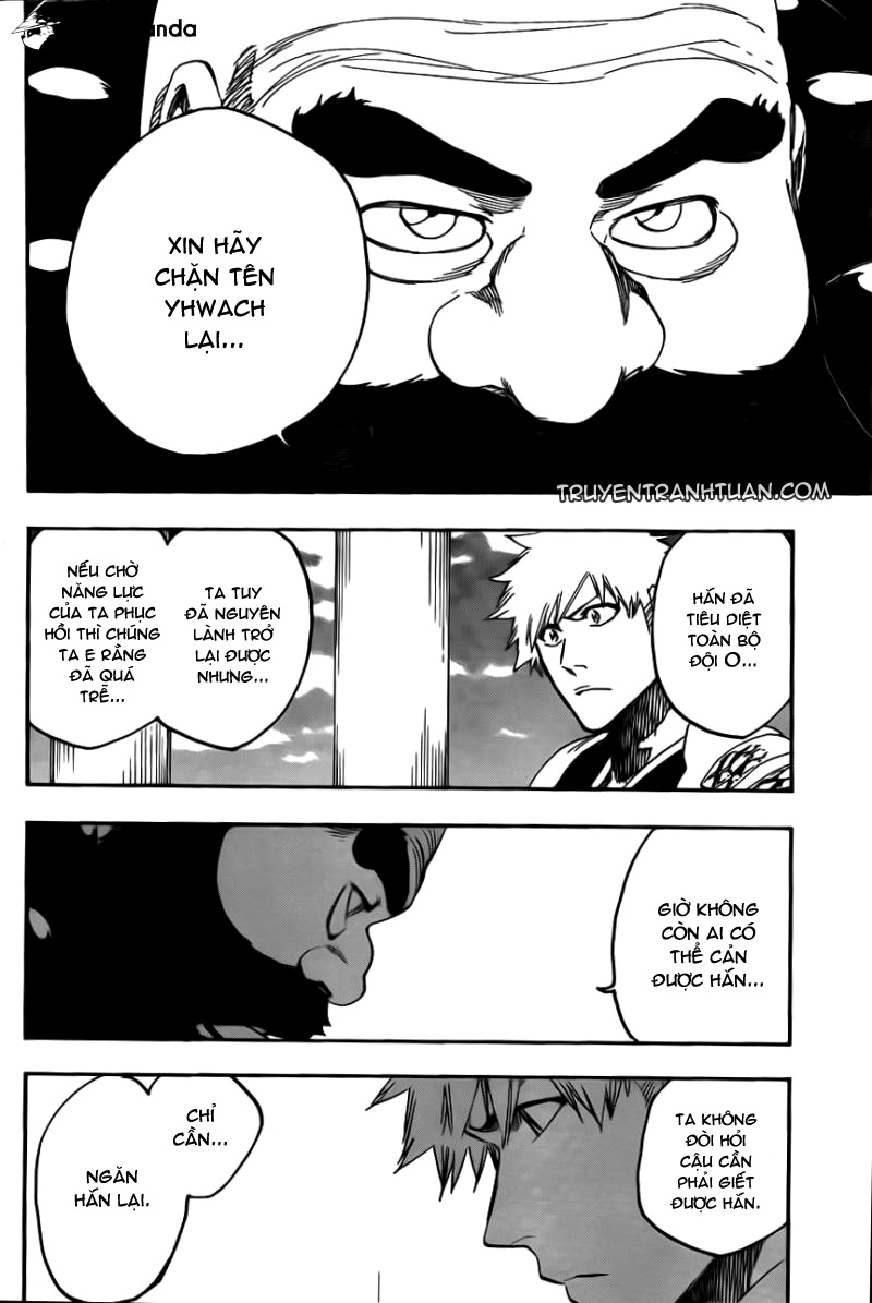 Bleach chapter 611 trang 14
