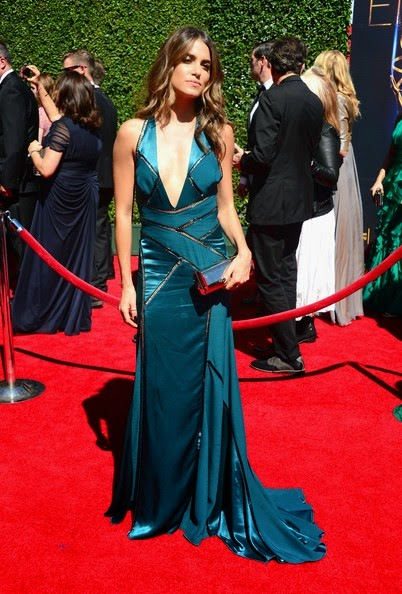 Nikki Reed attends the 2014 Creative Arts Emmy Awards