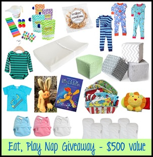 Eat, Play Nap prizes