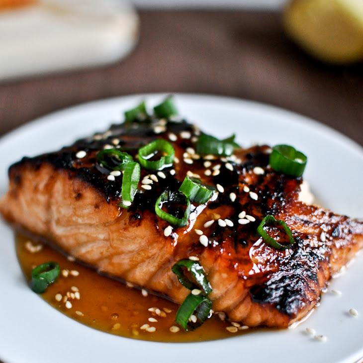 Toasted Sesame Ginger Salmon Recipe