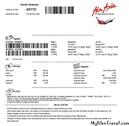 airasia macao ticket