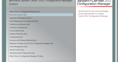All about Systems Management / ConfigMgr : Online Quiz for