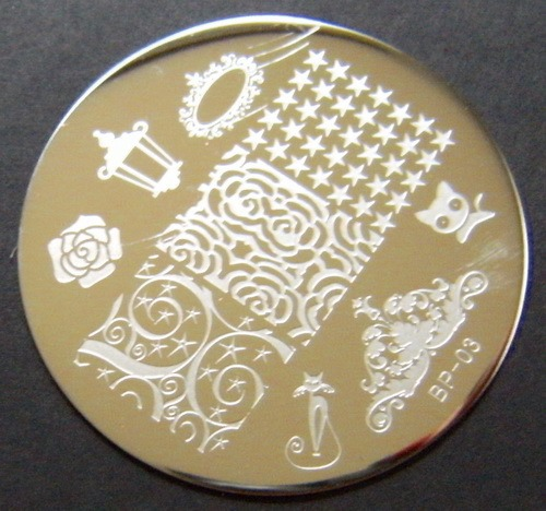 BP-03 stamping plate from BornPrettyStore