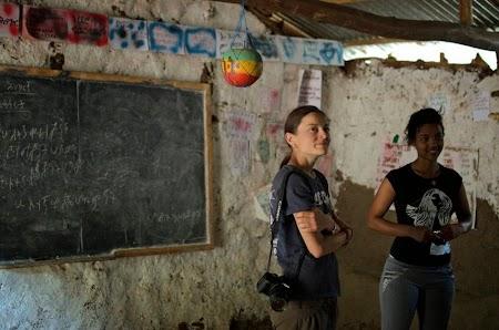 Trekking Muntii Simien - Etiopia: Impreuna cu invatatoarea de la scoala din Mekarabya