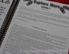 Apologia junior journal additional resources