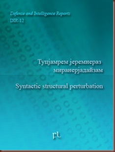 Syntactic Structural Perturbation Cover
