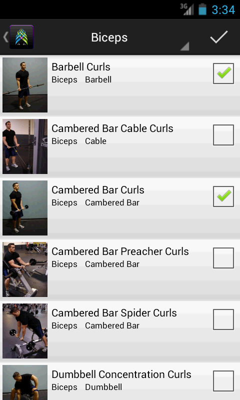 Gym Guru Pro, Workout, Fitness - screenshot