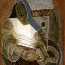 Juan Gris (1926): La Paysanne. Fondation Othmar Huber, Kunstmuseum. Berne.