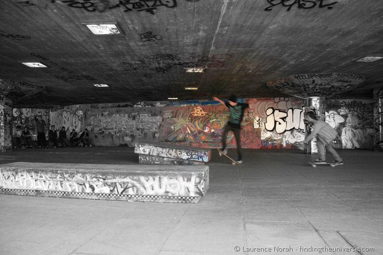 Skateboarder london