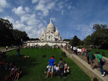 Obiective turistice Paris: Sacre Coeur