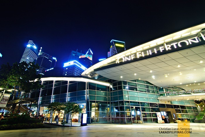 One Fullerton at Singapore's Marina Bay