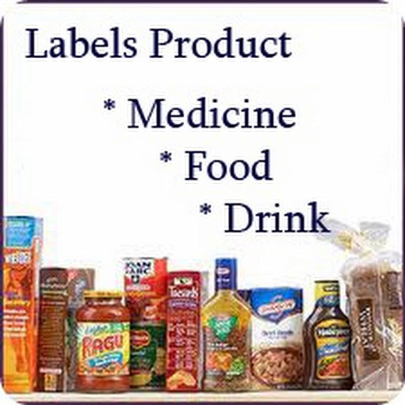 Gambar Label Pemakaian Obat Panas Dalam Bahasa Inggris
