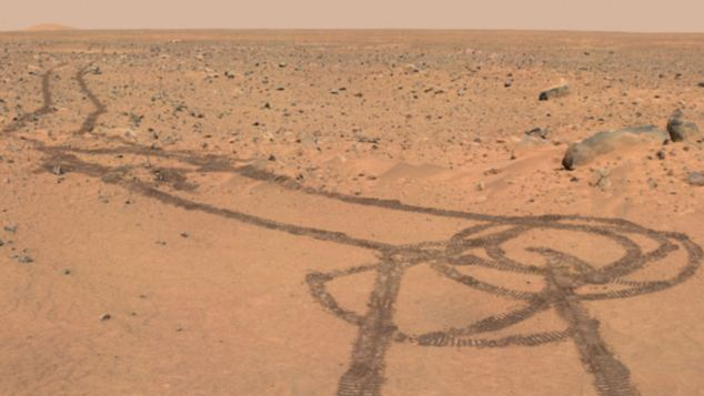 NASA Mars rover penis Spirit