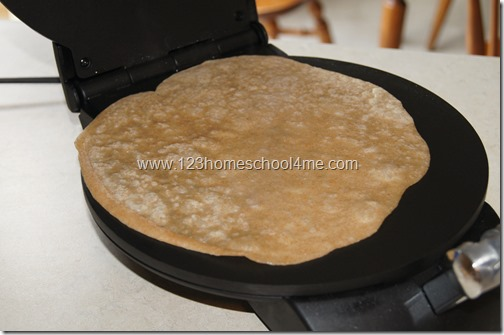 healthy homemade tortillas with real food