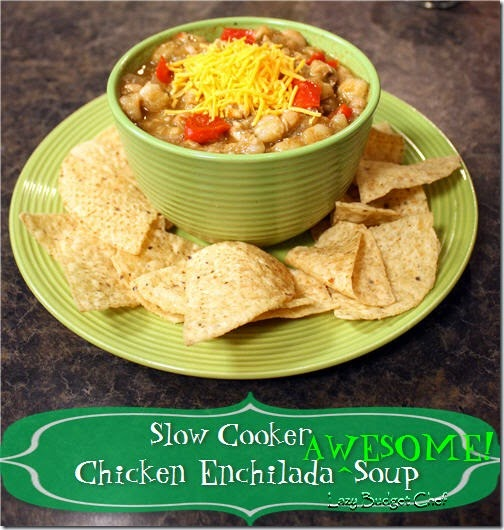crockpot chicken enchilada awesome soup