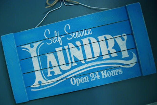 47 laundry sign
