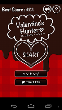 Valentine Hunter 2014 apk screenshot