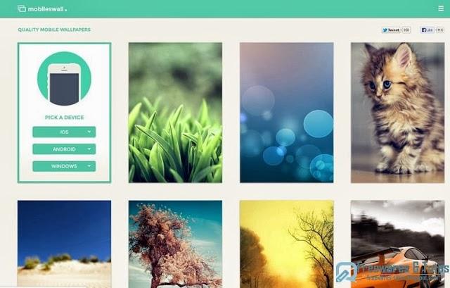MobilesWall : un site spécialisé dans les fonds d'écran pour téléphones mobiles