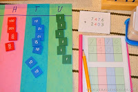 Learning Static Addition Using Montessori Stamp Game