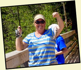 04c - Catching - Julie caught one