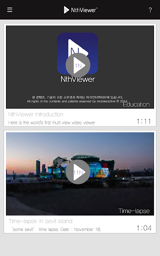 Nth Timelapse -Multiview Video