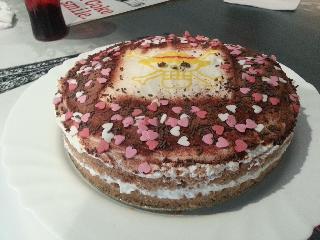 torta casera de one piece como hacer