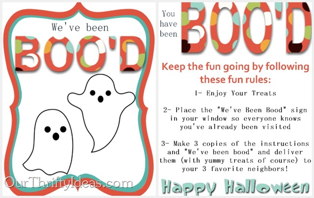 A round up of fun You've Been Boo'd ideas on Design Dazzle!