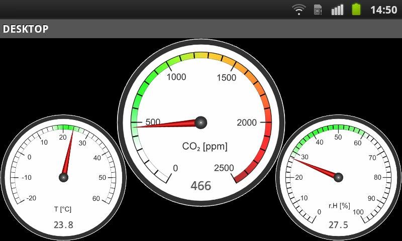 AQM Air Quality Monitor - screenshot