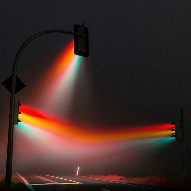 Surreal Traffic Light Photos by Lucas Zimmermann