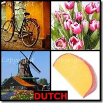 DUTCH- 4 Pics 1 Word Answers 3 Letters