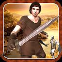 medieval Fighter war 3D mobile app icon